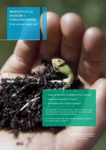 Bæredygtige indkøb i virksomheder – få det indirekte ... - Miljøstyrelsen