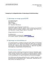 Bilag A Ansøgning om miljøgodkendelse af tørkølere ... - Miljøstyrelsen