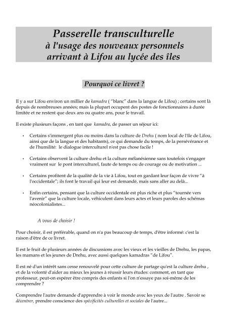 livret d'accueil (PDF - 332.8 ko) passerelle transculturelle