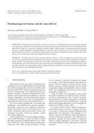 scarica pdf 1,4MB - Museo Tridentino di Scienze Naturali