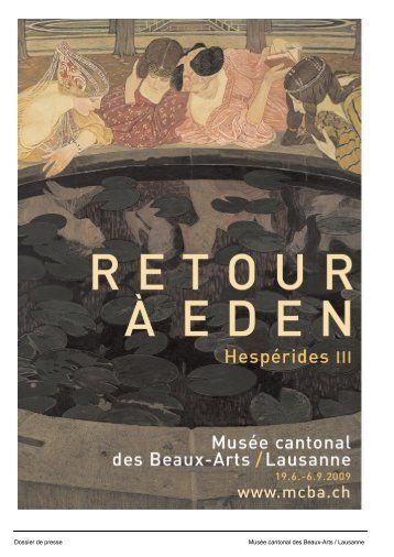 Press release in french and in german and press images - Musées ...