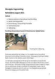 Slesvigske Vognsamling Nyhedsbrev august 2011