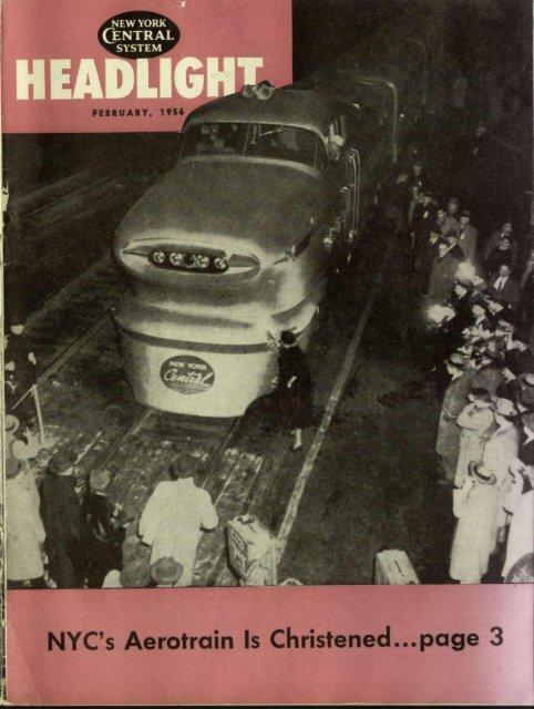 February 1956 Canada Southern Railway