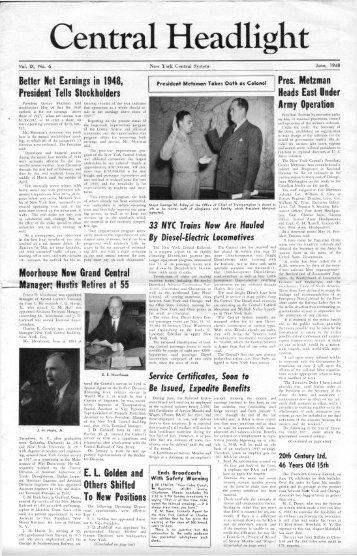 June, 1948 - Canada Southern Railway