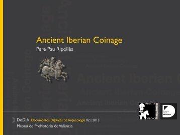 Ancient Iberian Coinage - Museo Prehistoria