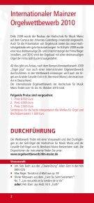 Flyer zur Ausschreibung (deutsch) (604 KB) - Hochschule für Musik ... - Seite 2