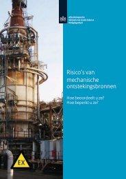 Risico's van mechanische ontstekingsbronnen