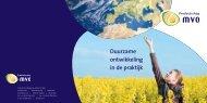 Duurzame ontwikkeling in de praktijk - Productschap Margarine ...
