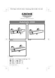 Linie Europlus Automatic 2000 - Grohe