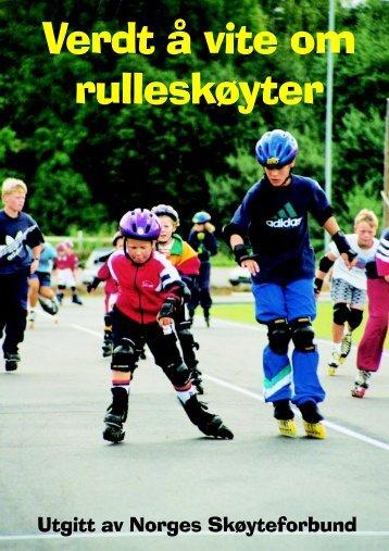 Verdt å vite om rulleskøyter - Norges Skøyteforbund