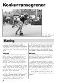 Verdt å vite om rulleskøyter - Norges Skøyteforbund - Page 4