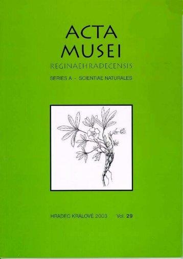 Acta musei Reginaehradecensis 2
