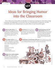 Ideas for Bringing Humor into the Classroom