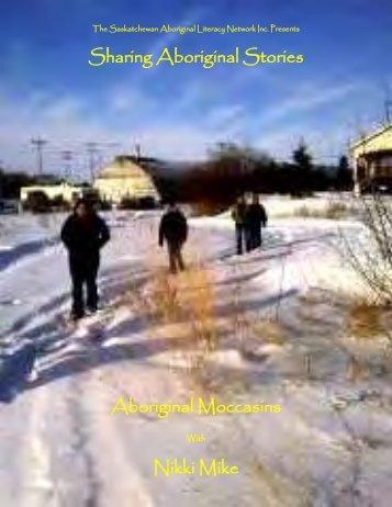 Sharing Aboriginal Stories: Aboriginal Mocassins
