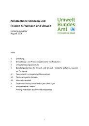 Nanotechnik: Chancen und Risiken für Mensch und ... - nanoTruck