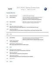 Chicago, IL - March 12-14, 2013 - NASA