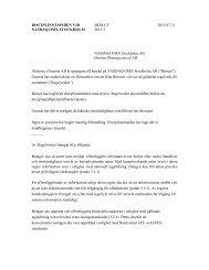 DISCIPLINNÄMNDEN VID BESLUT 2013-07-11 NASDAQ OMX ...