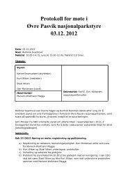 Protokoll for styremøte 03. desember 2012