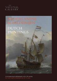 nederlandse schilderijen dutch paintings - National Gallery