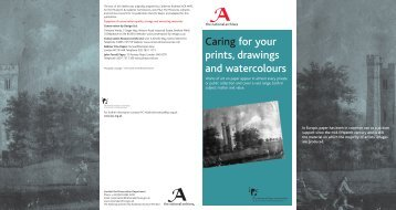 Caring for your prints, drawings and watercolours - The National ...