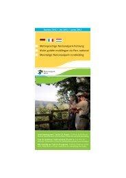 Mehrsprachige Nationalpark-Führung Visite ... - Nationalpark Eifel