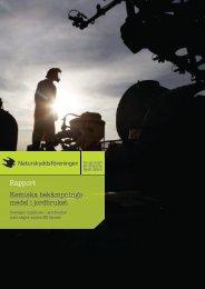 Kemiska bekämpningsmedel i jordbruket - Naturskyddsföreningen