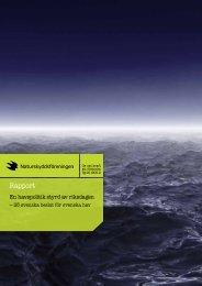 Rapport - Naturskyddsföreningen