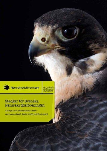 Stadgar för Svenska Naturskyddsföreningen