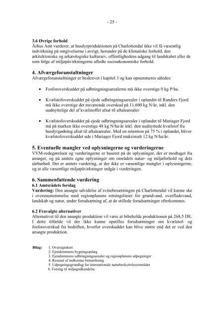 VVM: Charlottendal - Naturstyrelsen