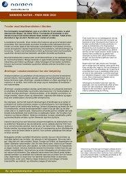 Trusler mod biodiversiteten i Norden - Naturstyrelsen