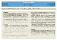 Allgemeine Geschäftsbedingungen für das Werbegeschäft in Online ...