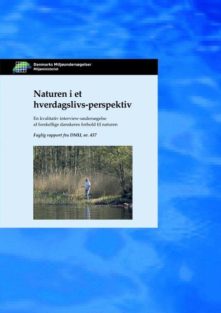 Naturen i et hverdagslivsperspektiv - Naturstyrelsen