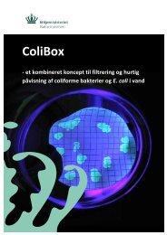 ColiBox - et kombineret koncept til filtrering og ... - Naturstyrelsen