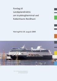 Forslag til landsplandirektiv og miljøvurdering - Naturstyrelsen