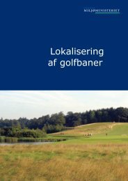 Lokalisering af golfbaner - Naturstyrelsen