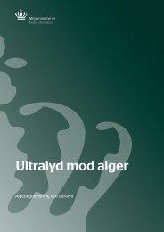Ultralyd mod alger - Naturstyrelsen