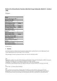 Referat, brugerrådsmøde - 11.oktober 2006 - Naturstyrelsen
