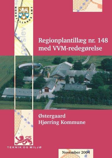 Tillæg nr. 148 - Naturstyrelsen