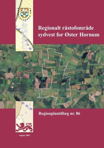 .ster-hornum till.g86 vedtaget.indd - Naturstyrelsen