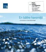En bättre havsmiljö - Naturvårdsverket