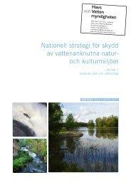 Nationell strategi för skydd av vattenanknutna natur - Naturvårdsverket
