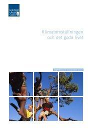 Klimatomställningen och det goda livet - Naturvårdsverket