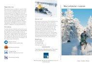 Med snöskoter i naturen - Naturvårdsverket