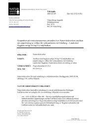 Yttrandet, 2005-03-09 (pdf 129 kB) - Naturvårdsverket