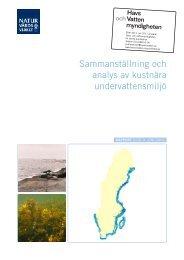 Sammanställning och analys av kustnära ... - Naturvårdsverket