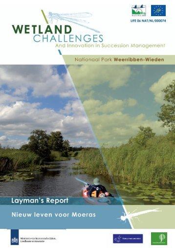 Nieuw leven voor moeras - Staatsbosbeheer