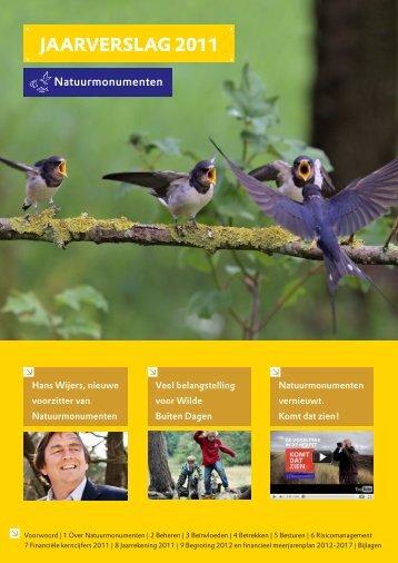 Jaarverslag 2011 (PDF 4 MB) - Natuurmonumenten