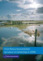 Visie Natuurmonumenten op natuur en landschap in 2040