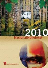 2010 - Nasjonalbiblioteket