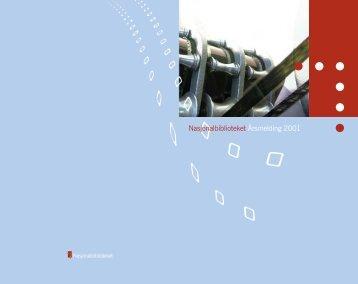 Årsrapport 2001 - Nasjonalbiblioteket